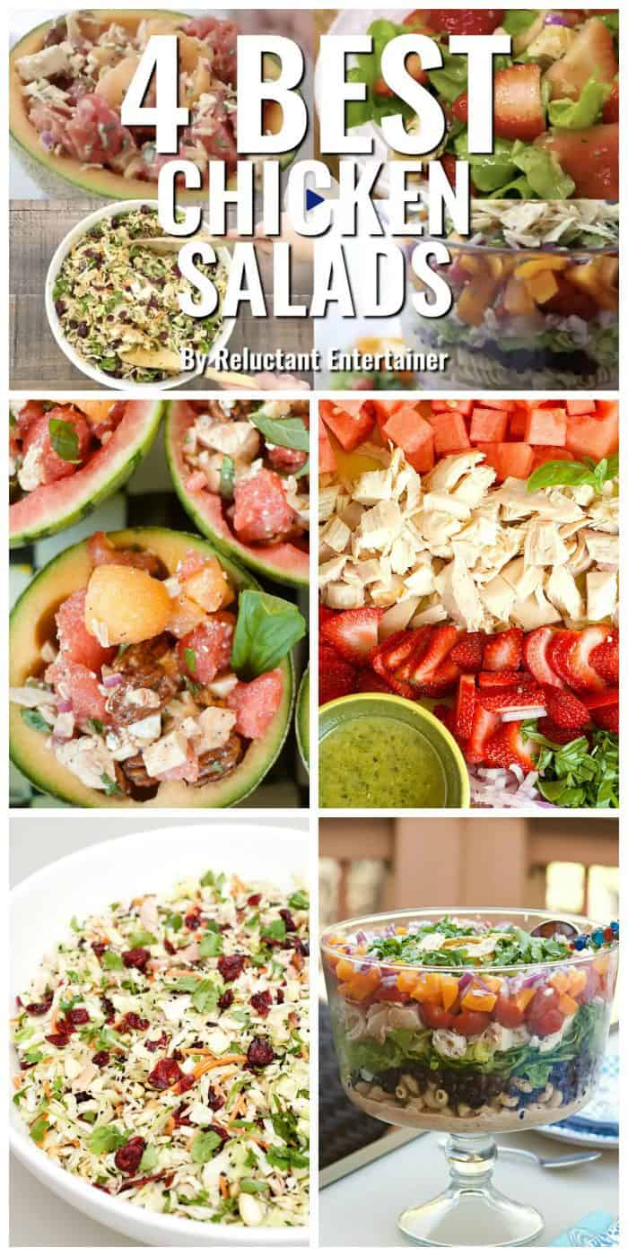 4 BEST Chicken Salads