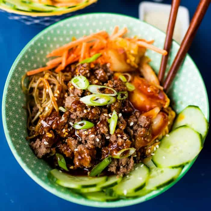 Tasty Healthy Korean Beef Bowls Recipe