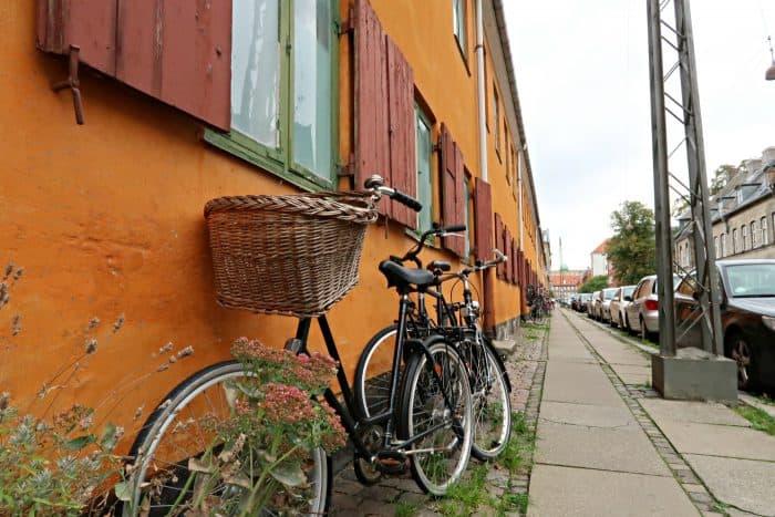 Homeland Viking Cruise Denmark Excursions - bike basket