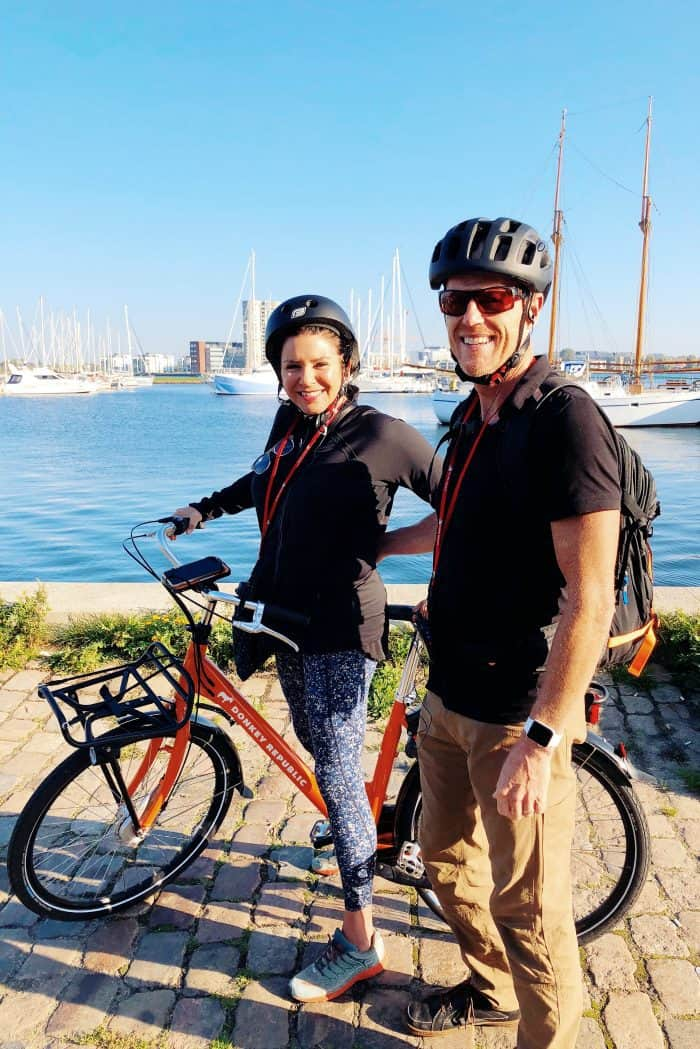 Homeland Viking Cruise Denmark Excursions - bikes