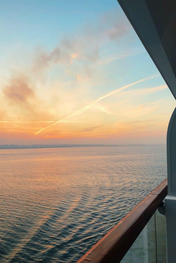 Homeland Viking Cruise Denmark Excursions sunset