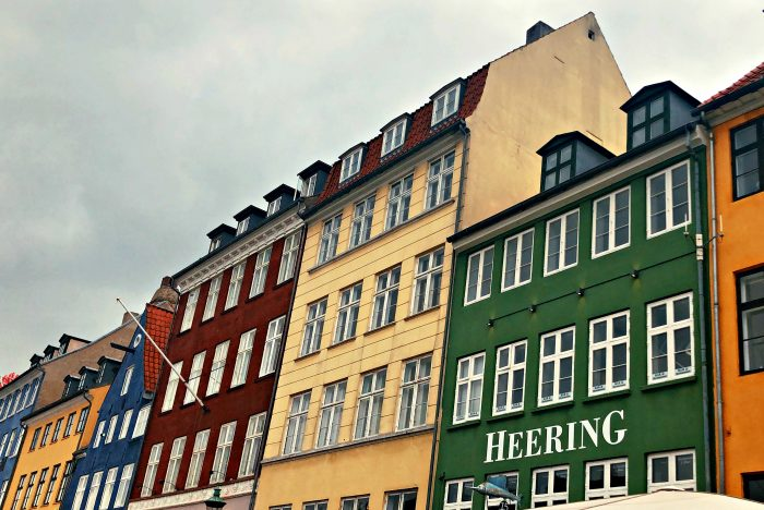 Homeland Viking Cruise Denmark Excursions - colored buildings