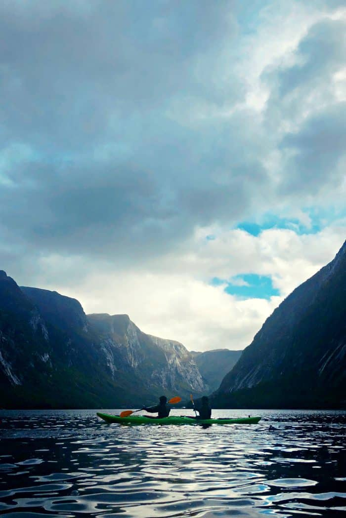 Homelands Viking Cruise Excursions Norway - scenic kayak