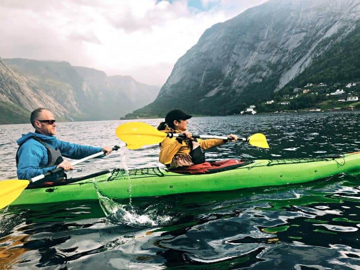 Homelands Viking Cruise Excursions Norway - couple