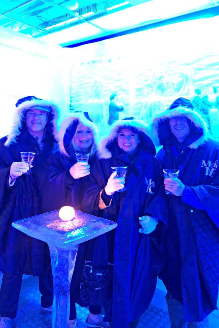 Homelands Viking Cruise Excursions Norway - Magic Ice Bar