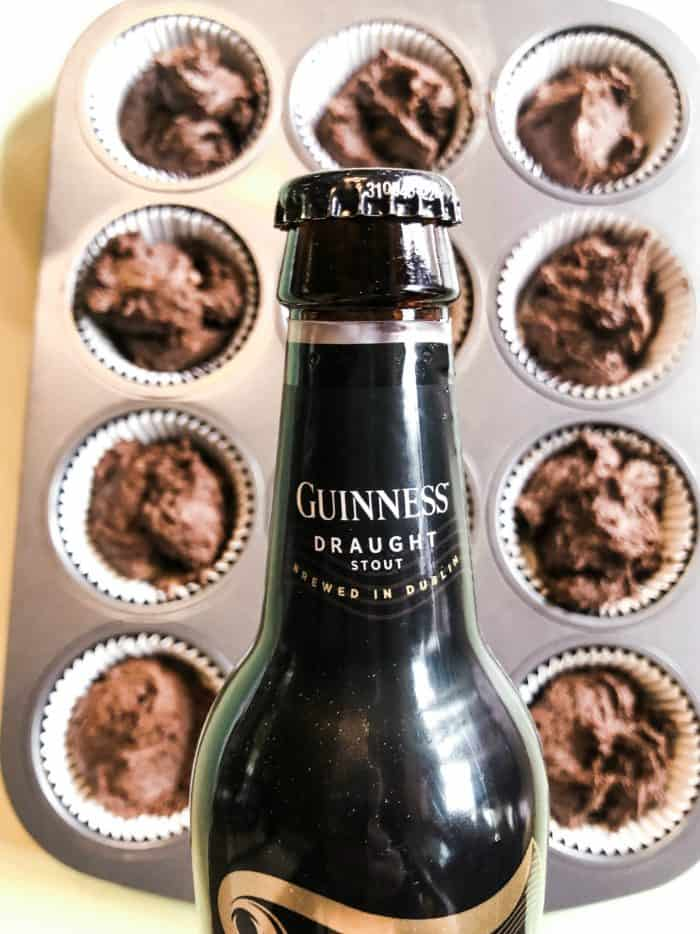 TASTY Irish Guinness Cupcakes Recipe