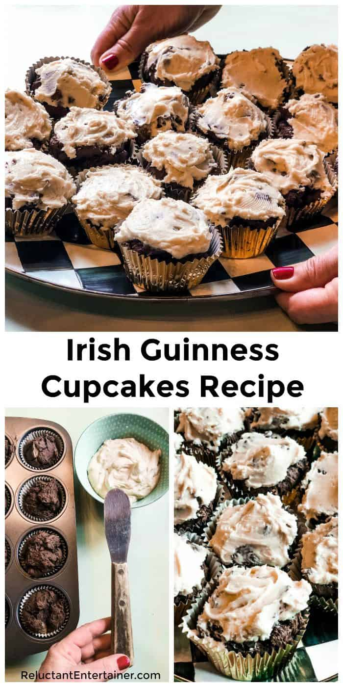 Irish Guinness Cupcakes Recipe
