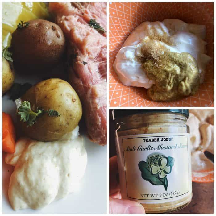 BEST Corned Beef and Cabbage with mustard