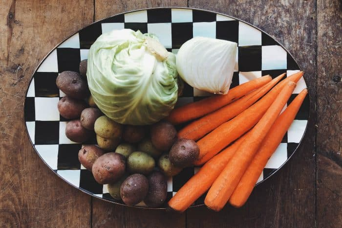 BEST Corned Beef and Cabbage - ingredients