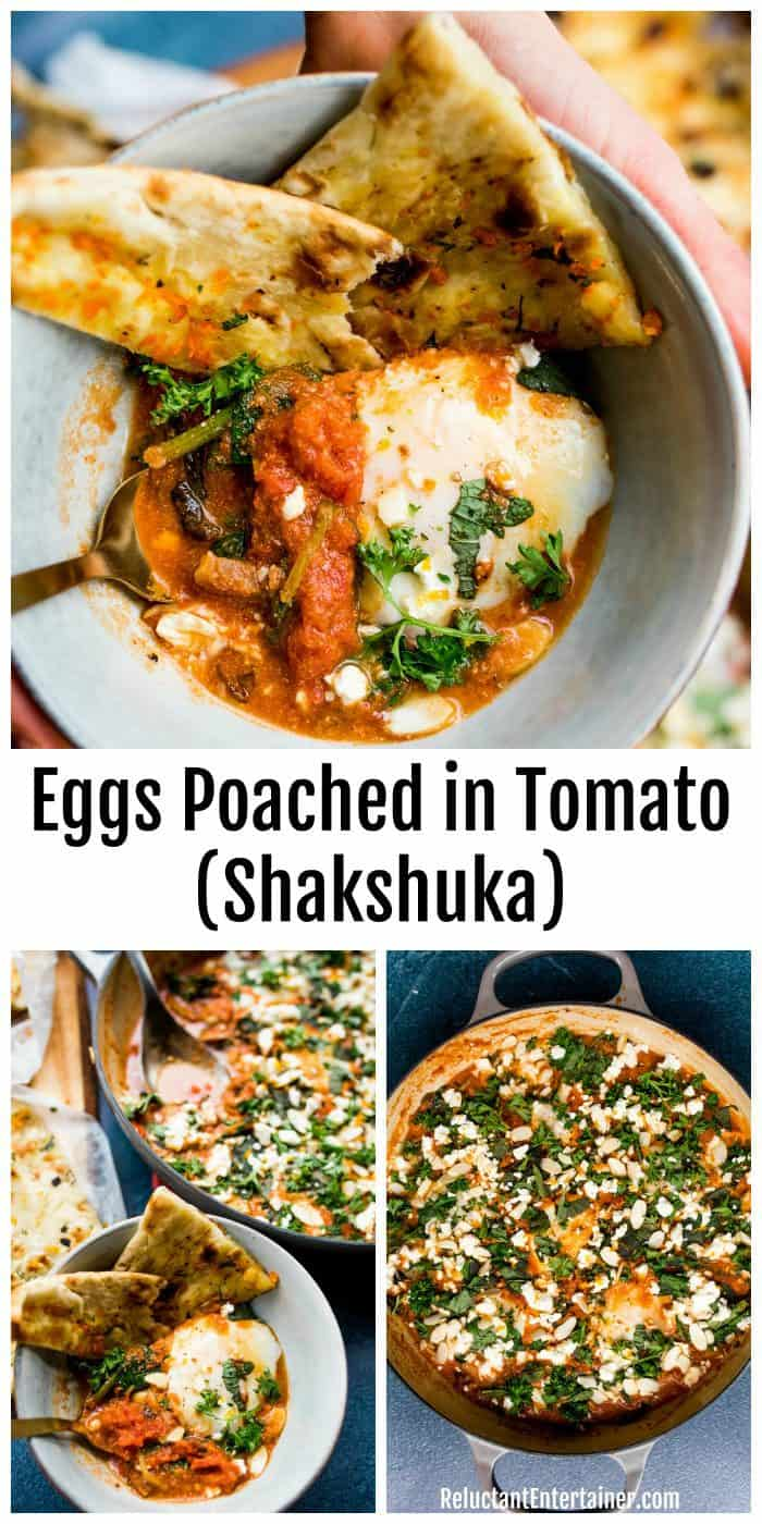 Eggs Poached in Tomato (Shakshuka) Recipe