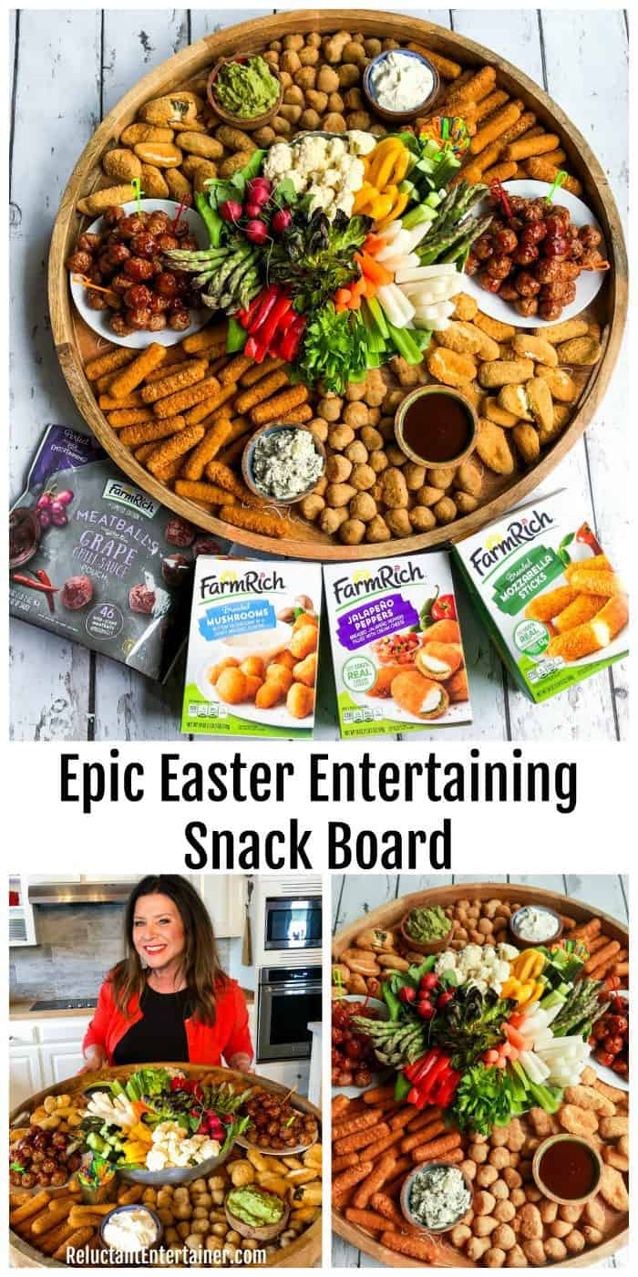 Epic Easter Entertaining Snack Board Recipe