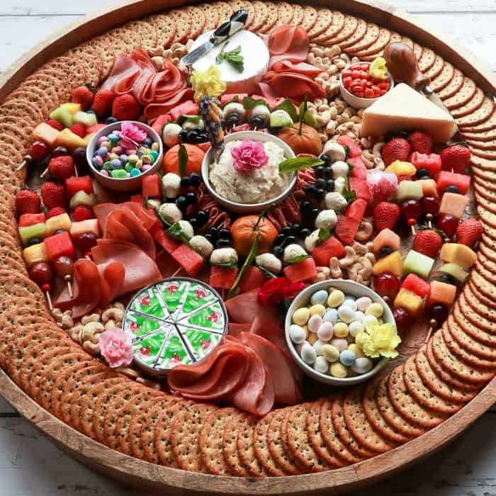 Easy Entertaining Epic Spring Charcuterie Board