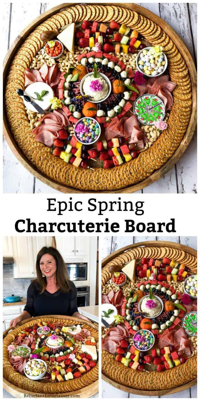 Epic Spring Charcuterie Board Recipe