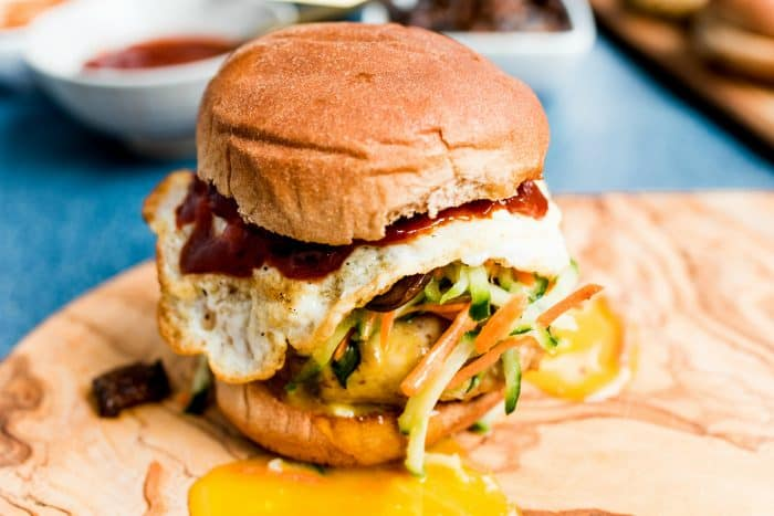 Best Korean Style Chicken Burgers