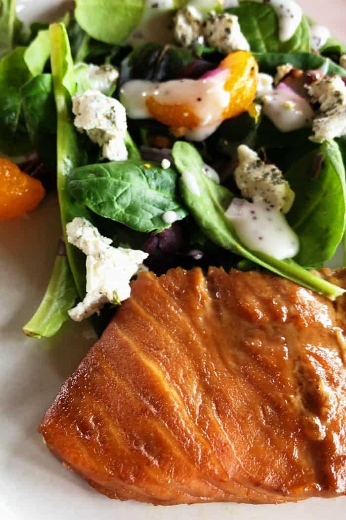 Best Easy Sriracha Baked Salmon Recipe