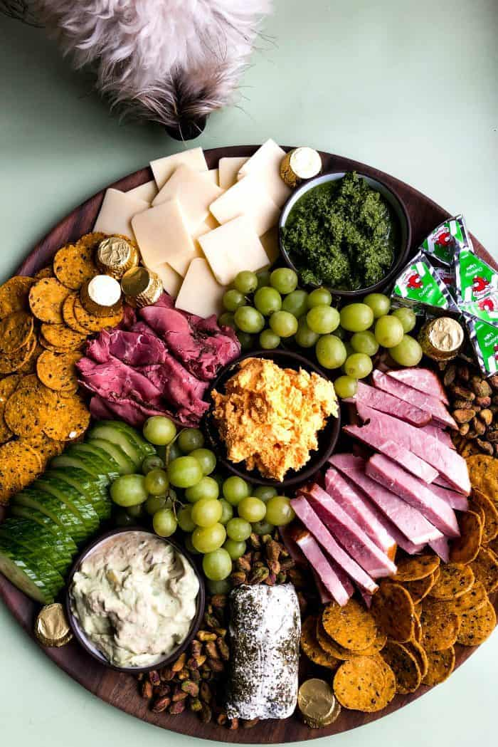 Simple St. Patrick's Day Snack Board