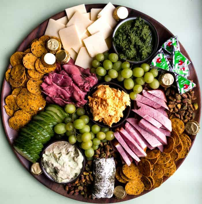 Simple St. Patrick's Day Snack Board Recipe