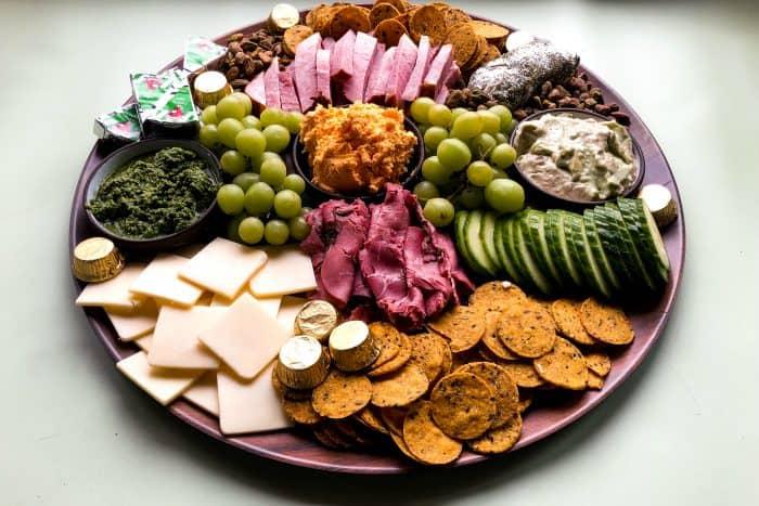 Easy St. Patrick's Day Snack Board