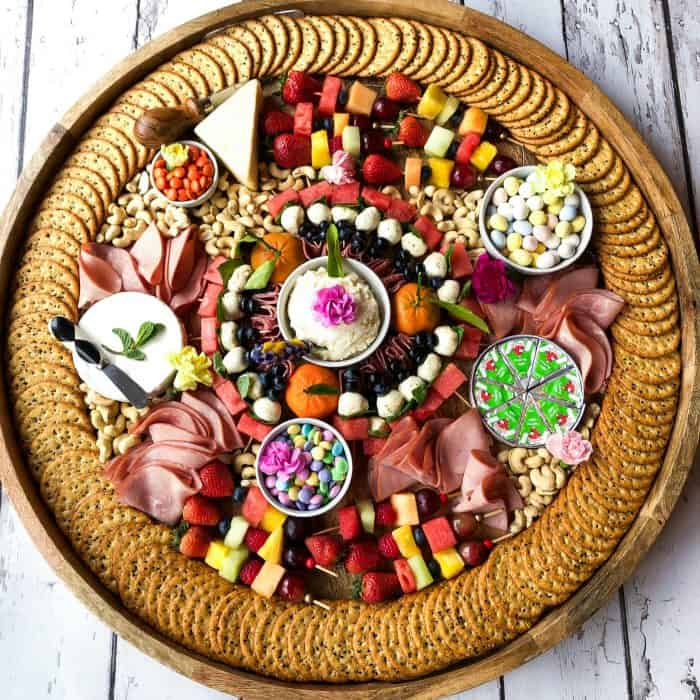 BEST Epic Spring Charcuterie Board
