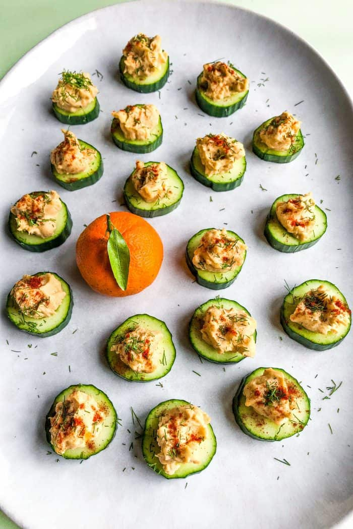 Tasty Easy Deviled Egg Canapés Bites