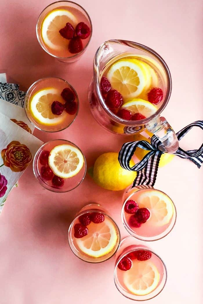 BEST Raspberry Lemonade Recipe