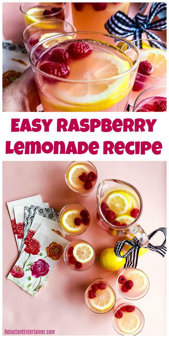 Easy Raspberry Lemonade Recipe