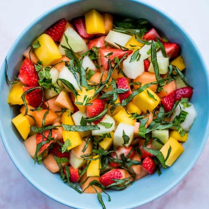 Easy Homemade Fruit Salad Recipe