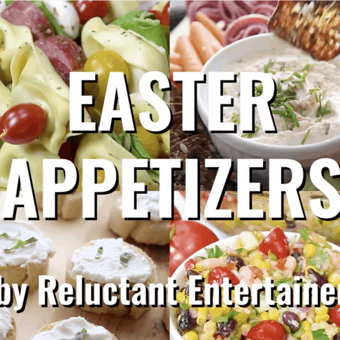EASY Best Easter Appetizers