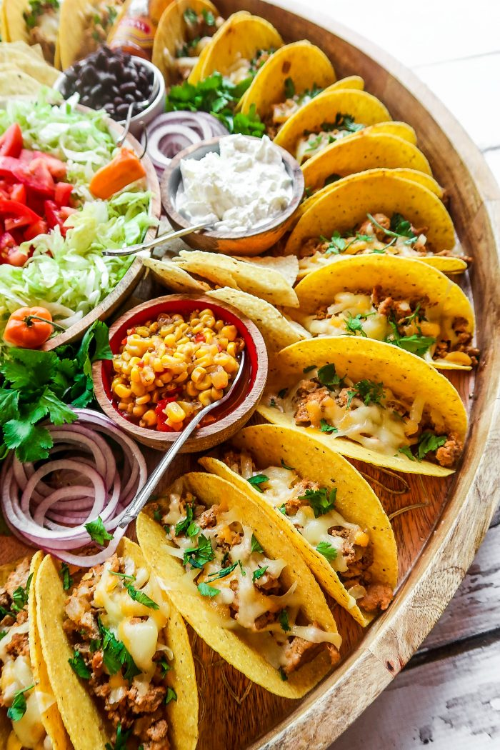 Easy Taco Recipe Dinner Board Reluctant Entertainer