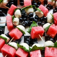 How to make Easy Watermelon Skewers Recipe