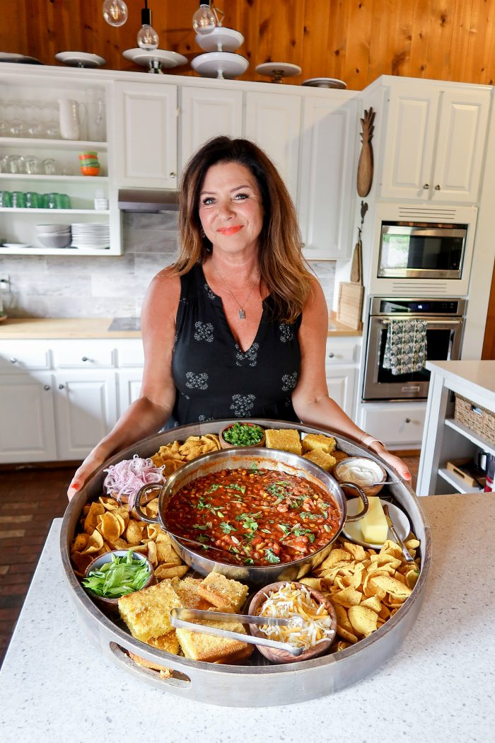 Best EPIC Chili Dinner Board Recipe
