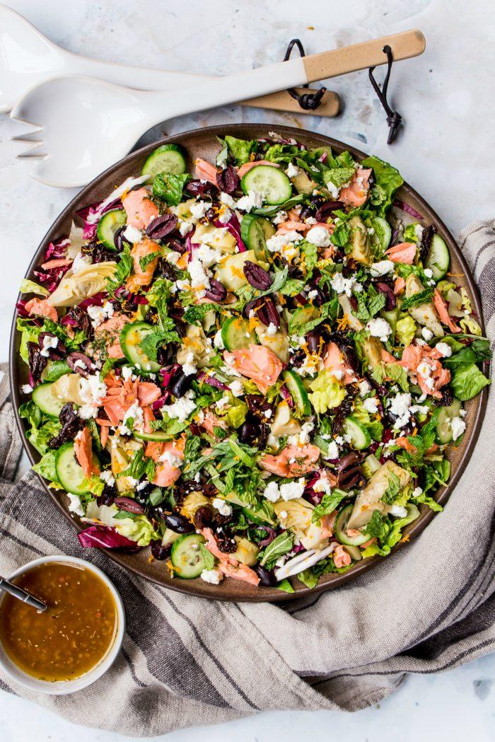 Best Mediterranean Salmon Salad Recipe