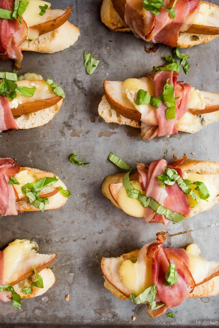 Best Pear Brie Bruschetta Recipe
