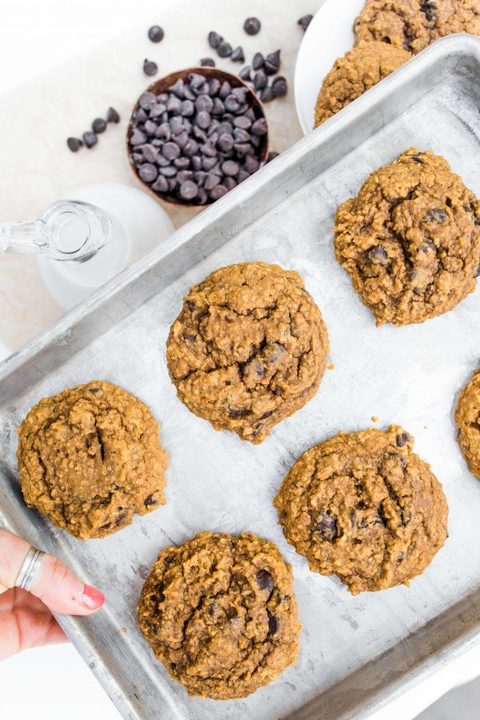 Gluten-Free Pumpkin Peanut Butter Cookies
