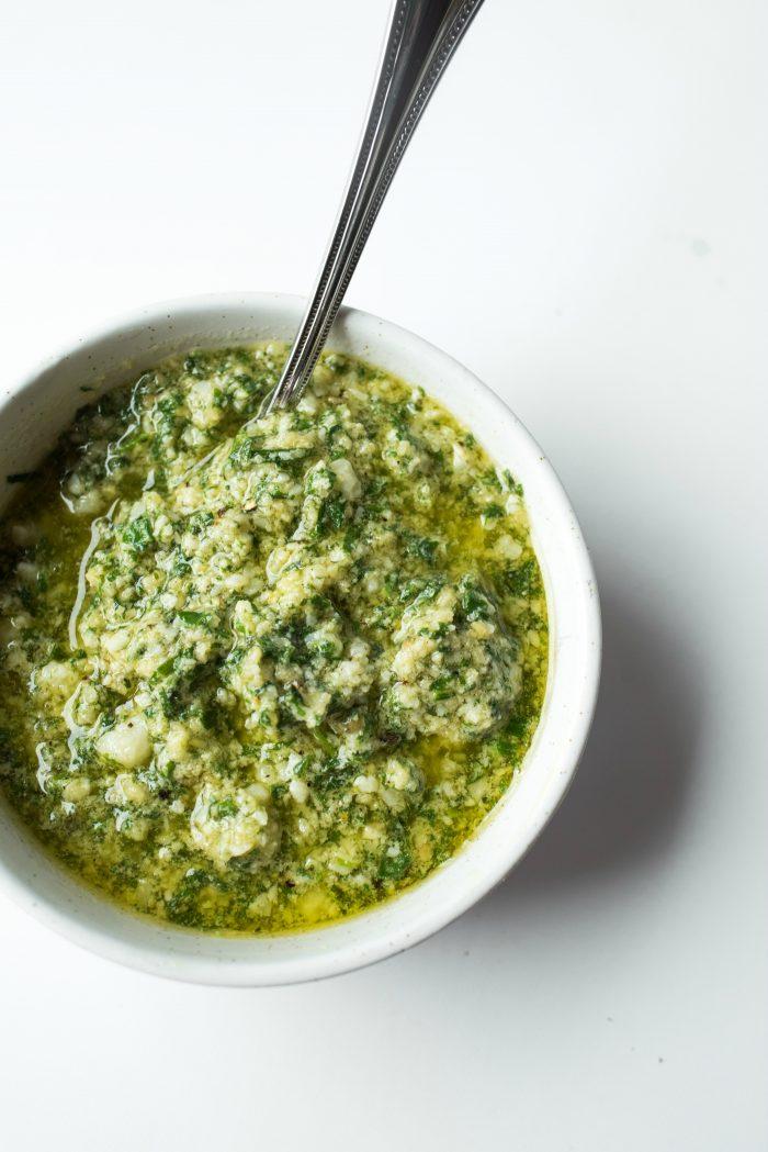 THE BEST Basil Tarragon Pesto Recipe