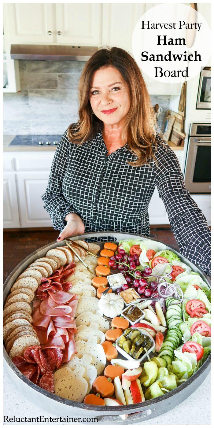 Harvest Party Ham Sandwich Board Recipe