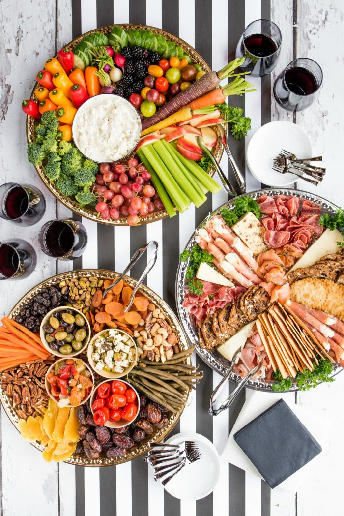 Holiday Charcuterie Board Appetizers