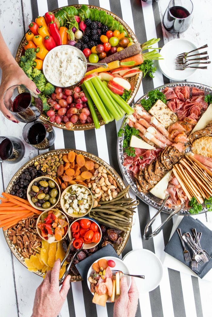 CHEERS - Holiday Charcuterie Board Appetizers