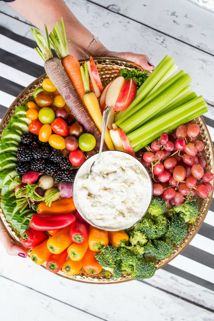 Holiday Fruit Veggie Appetizers