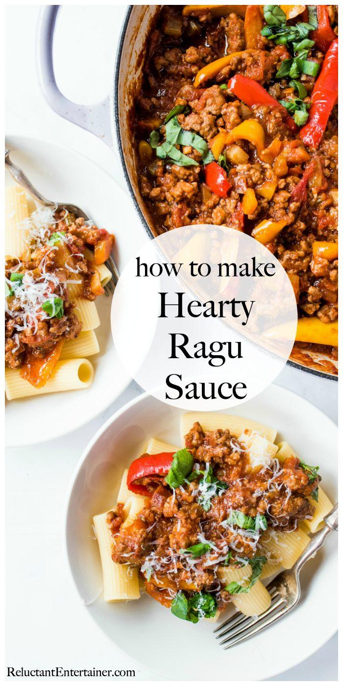 HEARTY RAGU SAUCE