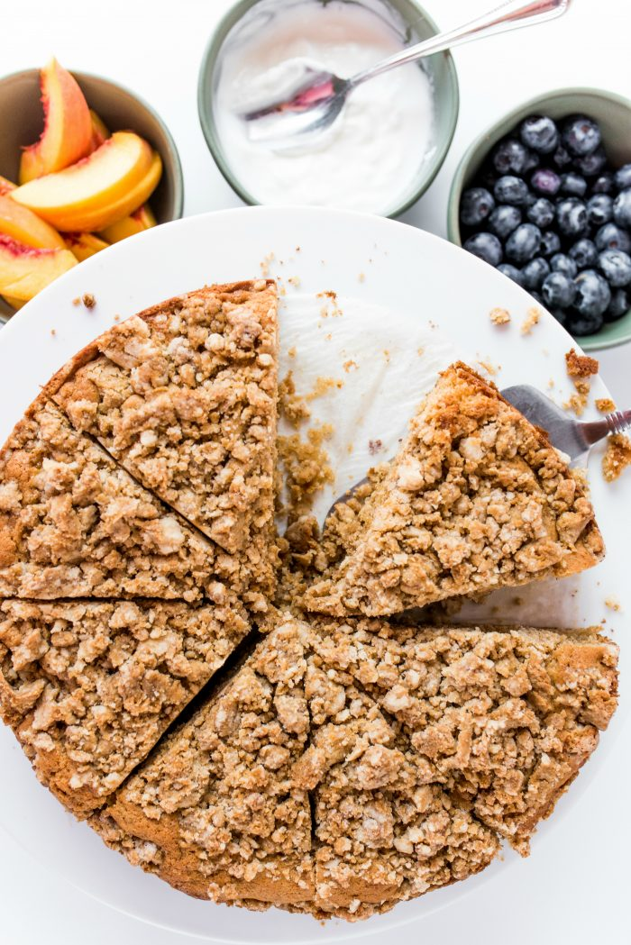 BEST Pear Coffee Cake Recipe