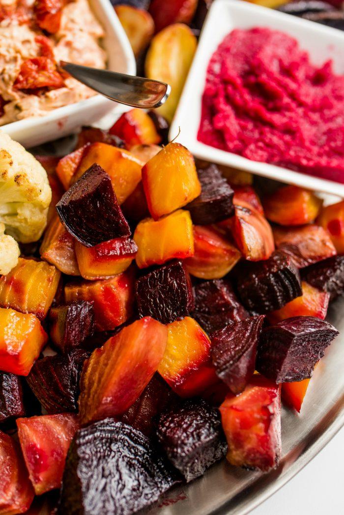BEETS - Roasted Veggie Crudite Platter