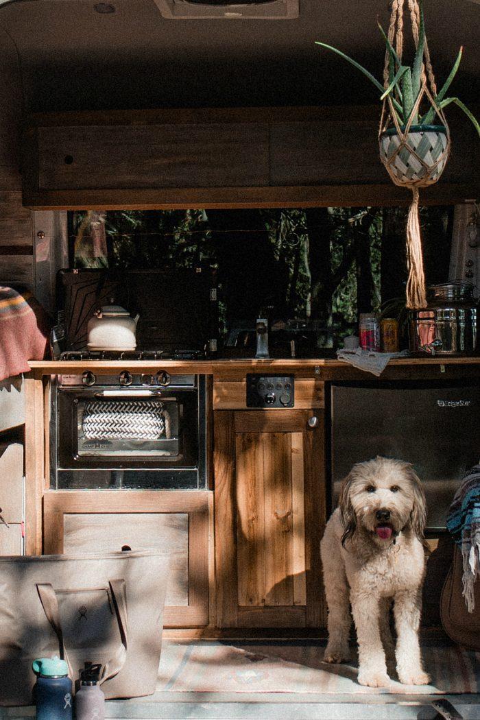 Sprinter Van Conversion: The Kitchenette