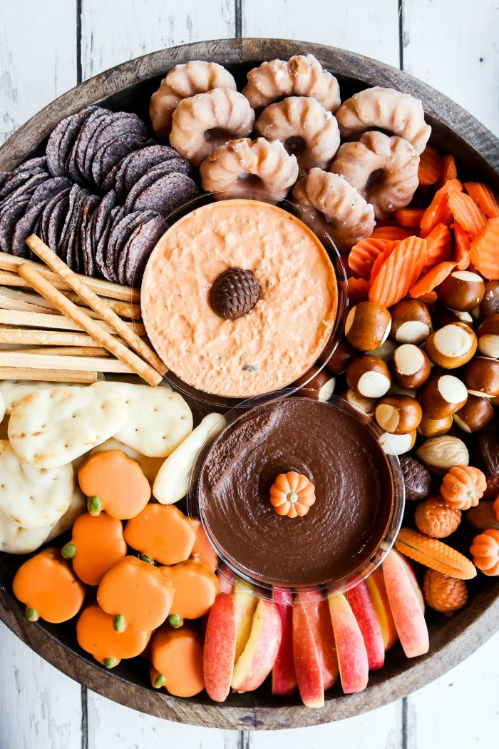 Sweet and Savory Harvest Snack Board