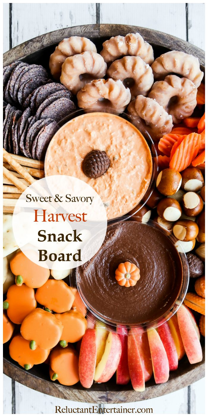 Sweet and Savory Harvest Snack Board LIST
