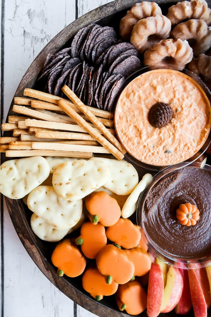BEST Sweet and Savory Harvest Snack Board