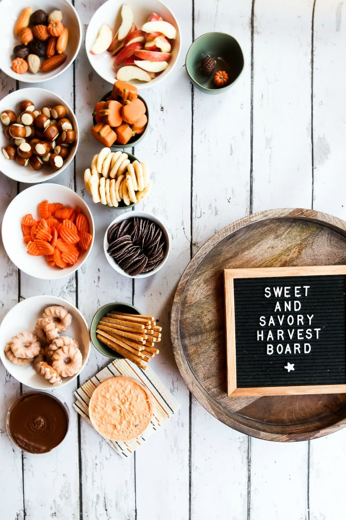 How to make Sweet and Savory Harvest Snack Board