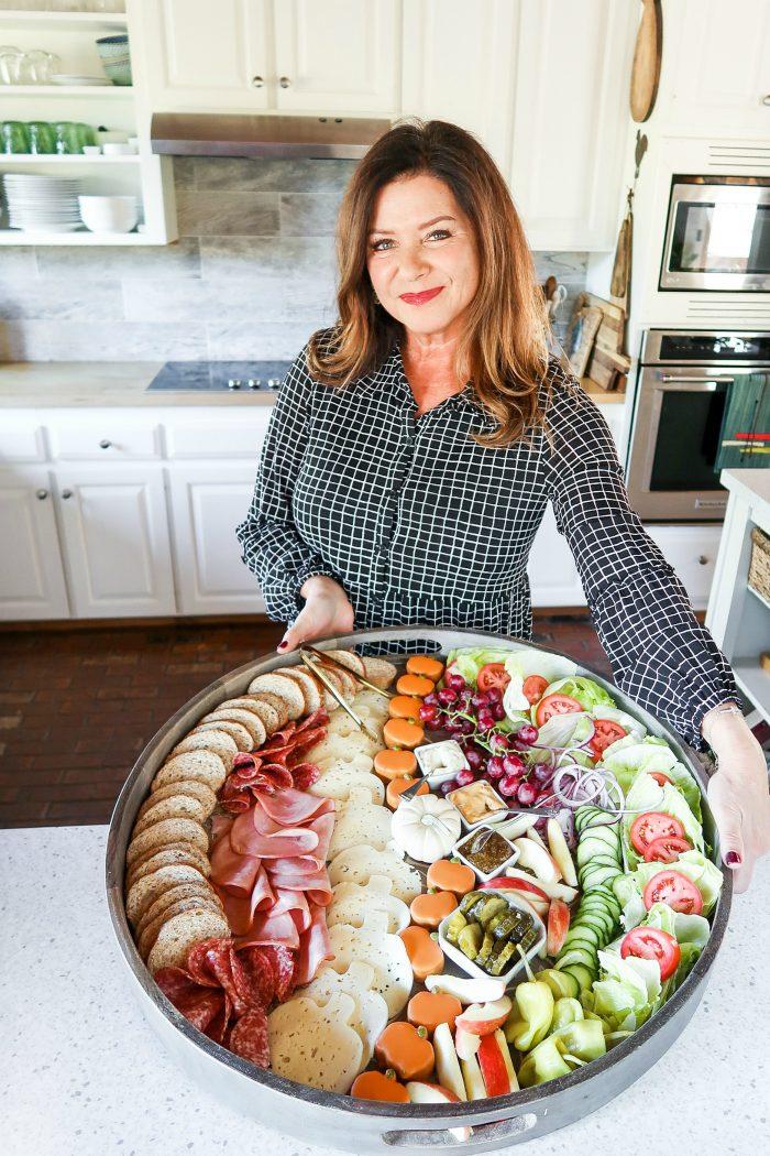 Party Ham Sandwich Board