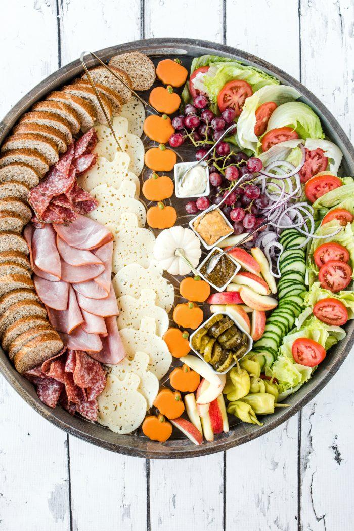 Harvest Party Ham Sandwich Board