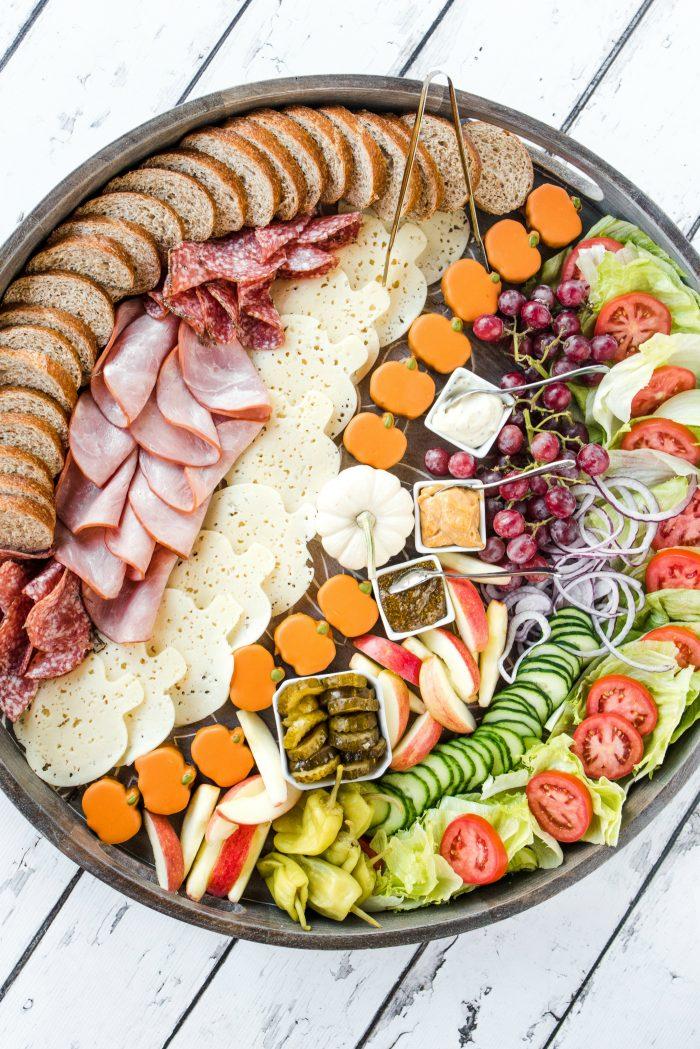 EPIC Harvest Party Ham Sandwich Board